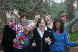 Participants having fun at one of our Women's Retreat.