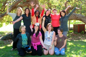 Participants at one of our Women's Retreats and Workshops
